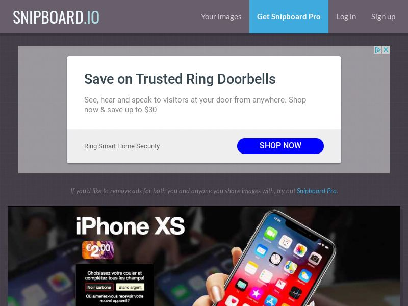 BigEntry - iPhone XS v2 FR - CC Submit