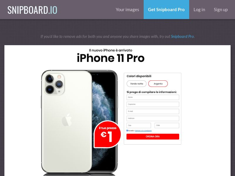 36636 - IT - SteadyBusiness - iPhone 11 Pro (LP 25 White / Red) - CC submit