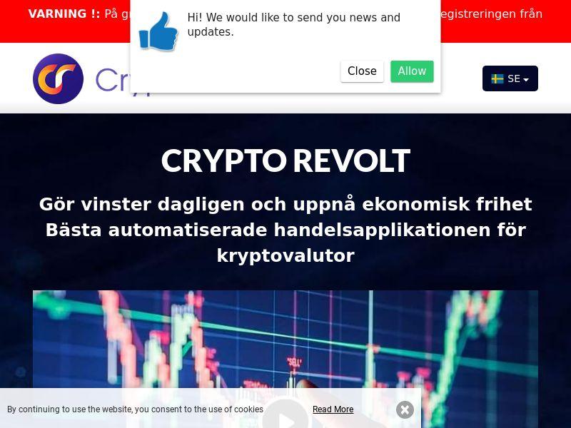 Crypto Revolt Swedish 2145