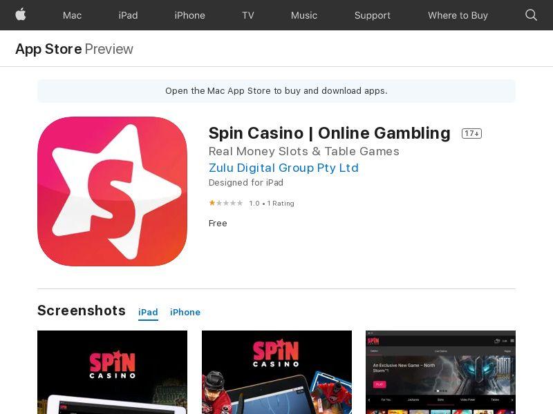 CA - Spin Casino_IOS_CPA (Direct)