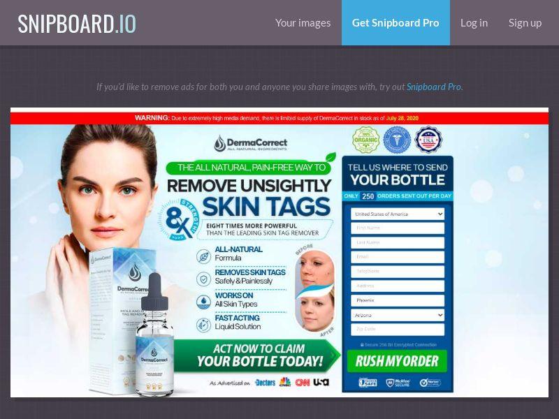 37431 - US - CA - IE - Nutra - Skin - Derma Correct (US/CA/IE) - CPS