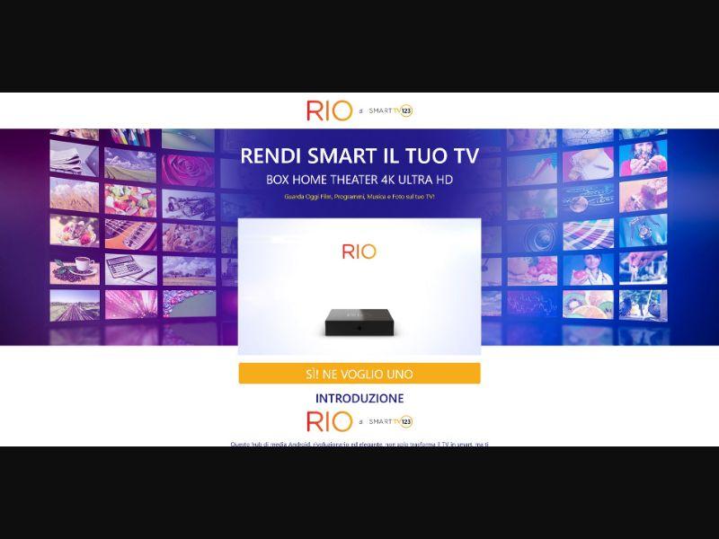 Rio - Smart TV 123 - Italian Video page - SS - [IT]
