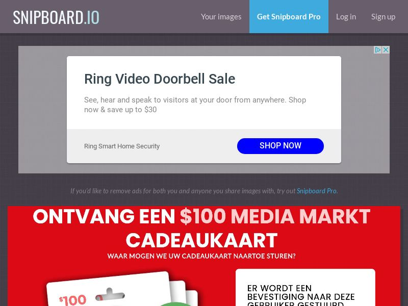 CoreSweeps - Media Markt Giftcard 100 USD FI - CC Submit