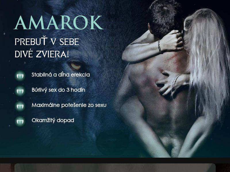 Amarok SK - potency treatment product
