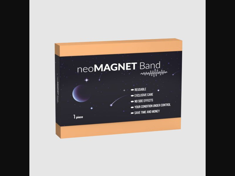 NEOMAGNET BAND – SE – CPA – pain relief – magnetic bracelet - COD / SS - new creative available
