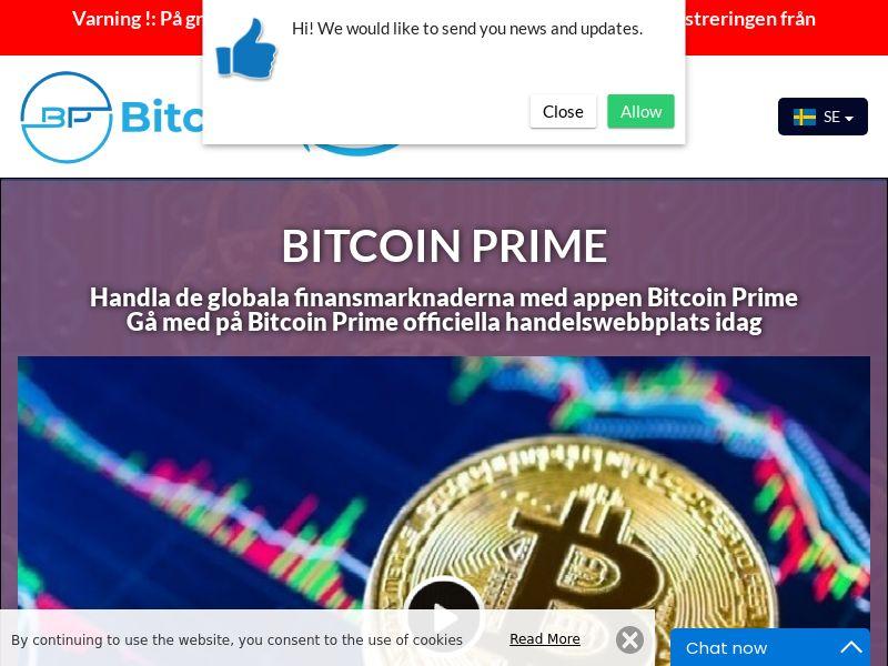Bitcoin Prime Swedish 2602