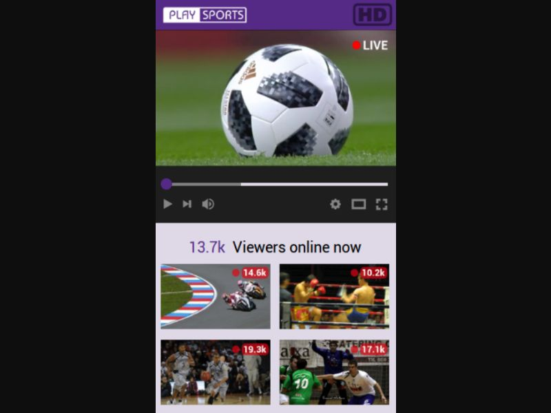 Video Sport - SMS flow - Tier 3 - Sports - Mobile