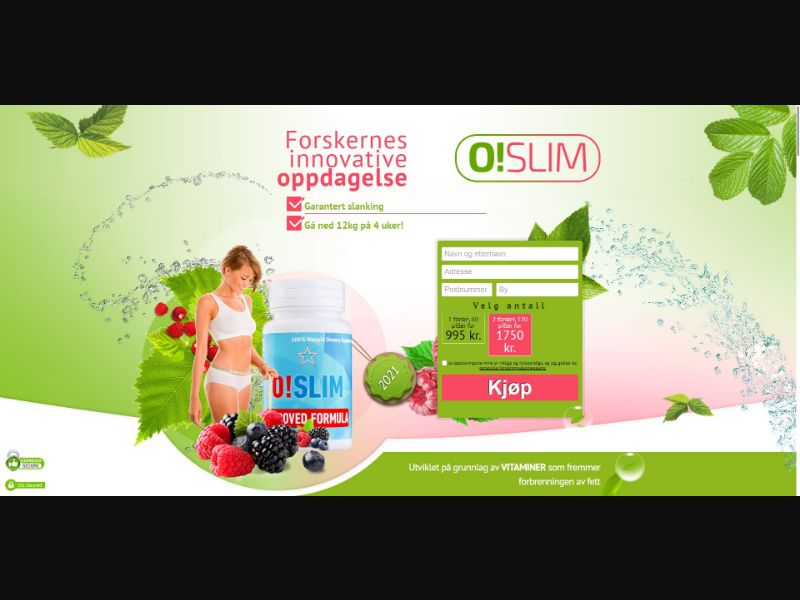 O!Slim - Diet & Weight Loss - SS - [NO]