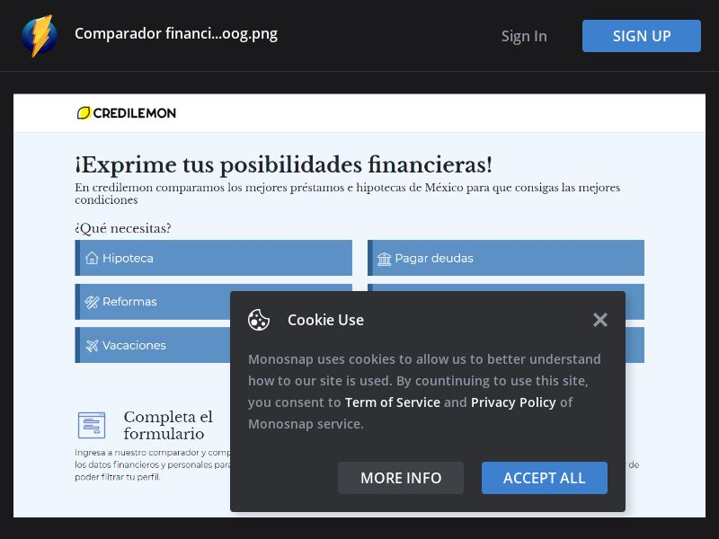 Mexico (MX) - Credilemon - Exprime Tus Posibilidades Financieras (Responsive)