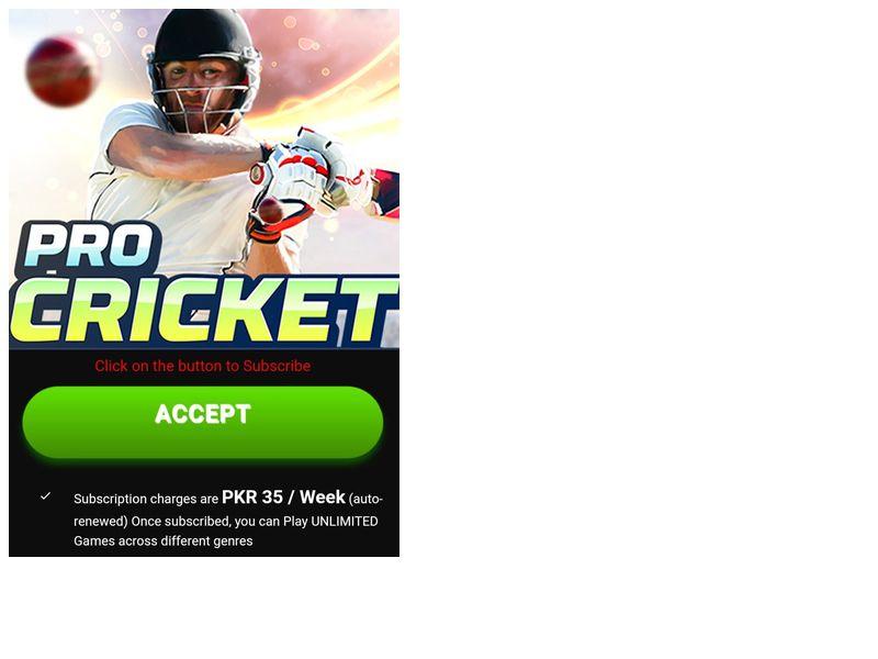 Pro Cricket Telenor