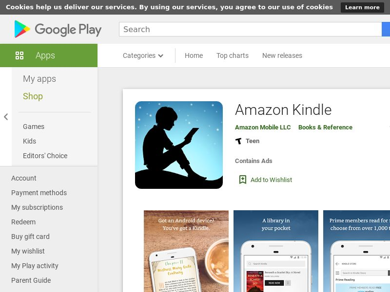 Amazon Kindle - FR - Phone - Android (MUST PASS GAID)