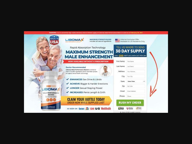 LiboMax Male Enhancement (US) CPS