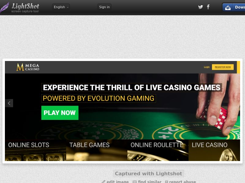Mega Casino (UK) (CPS) (Personal Approval)
