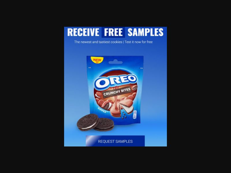 Oreo Crunch Samples - UK