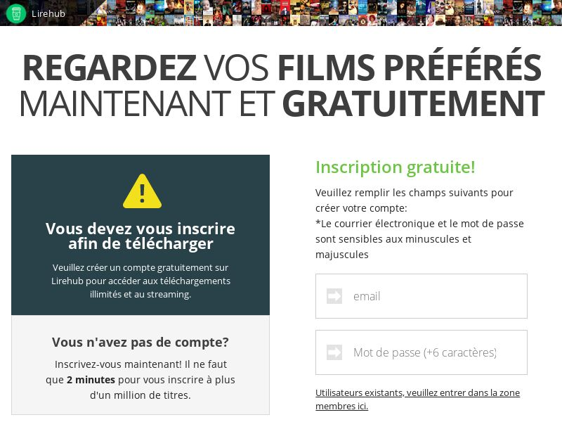 AdCenter Movies (FR) - CPA, VOD, Free Trial, CC Submit, Multi-Geo