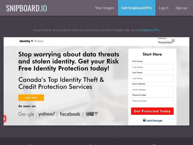 39602 - CA - Finance - Identity Protect - Trial