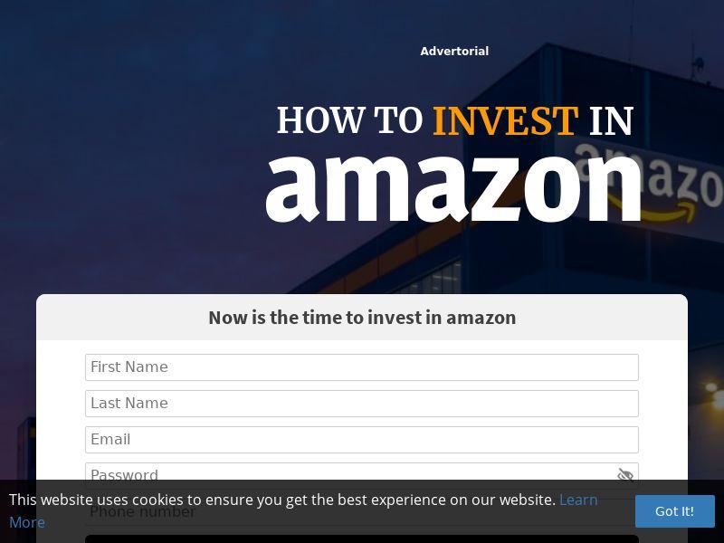 Invest in Amazon (ZA) (CPS)