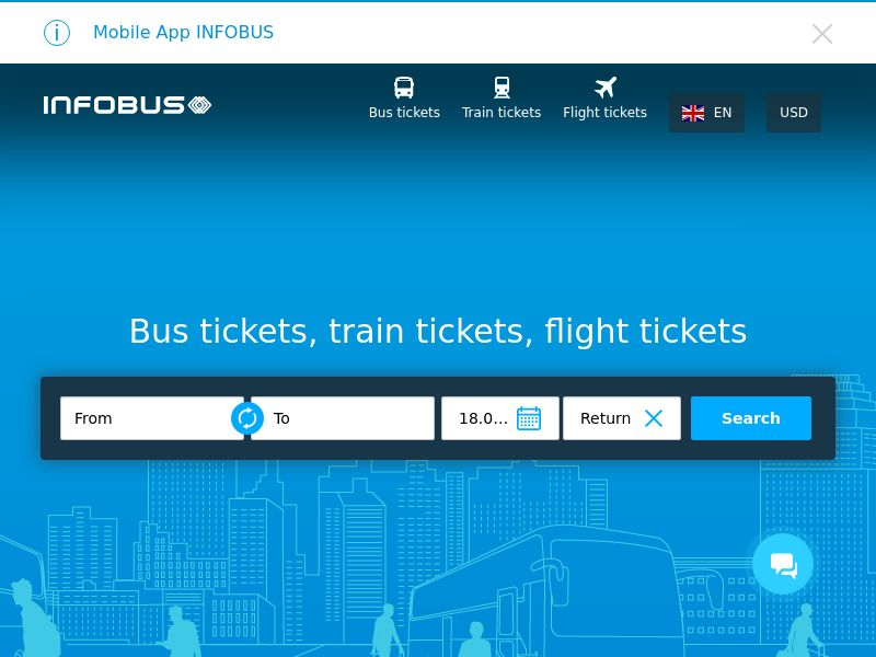 Infobus (MultiGeo), [CPS], Transport and Travel, Transport, Sell, holiday