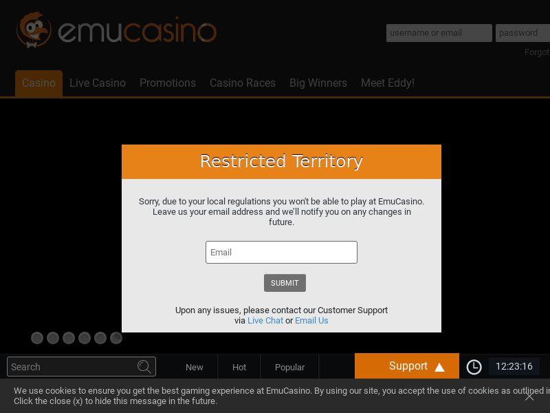 Emu Casino - NZ - Non-Incent (CPL) (NET 7) (Sensitive)