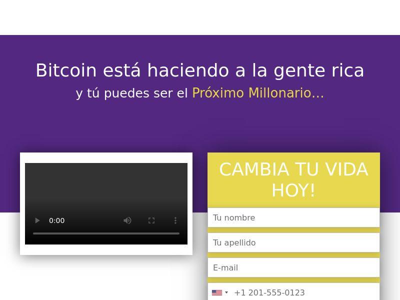 Bitcoin revolution CPA LATAM