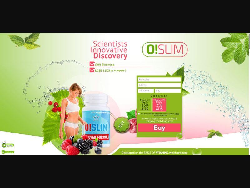 O!Slim - Diet & Weight Loss - SS - [AU]