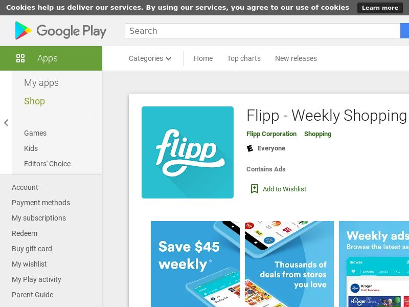 Flipp - Weekly Shopping - Android - US