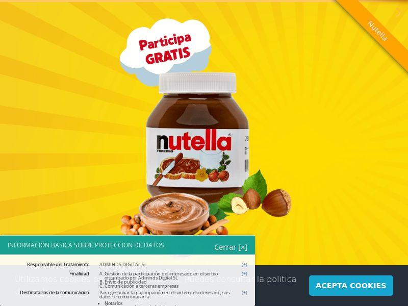 Nutella 5KG For Free SOI ES