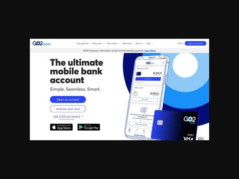 Go2Bank - Mobile Banking