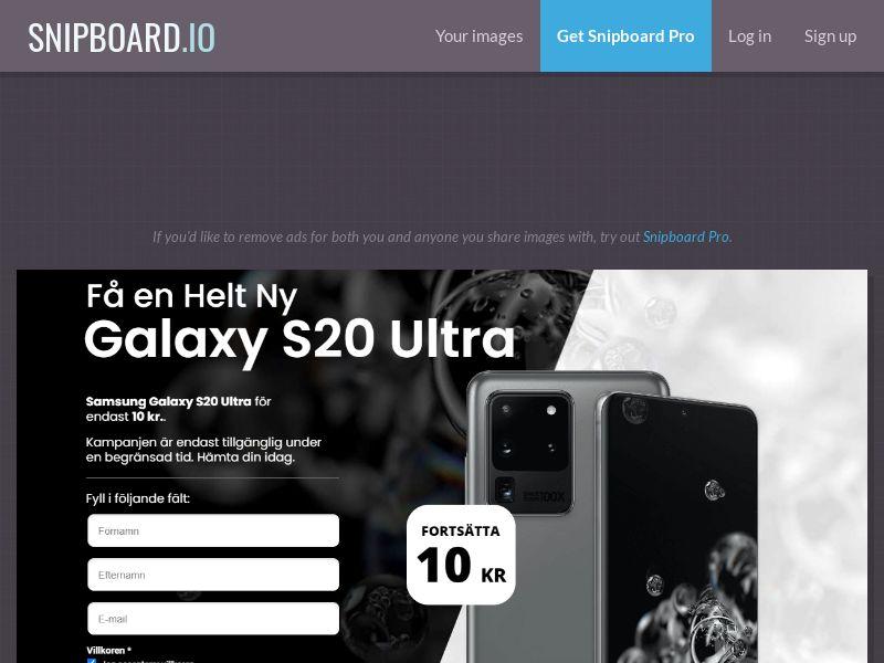 41491 - SE - Samsung S20 Ultra - LP43 - SE - CC submit