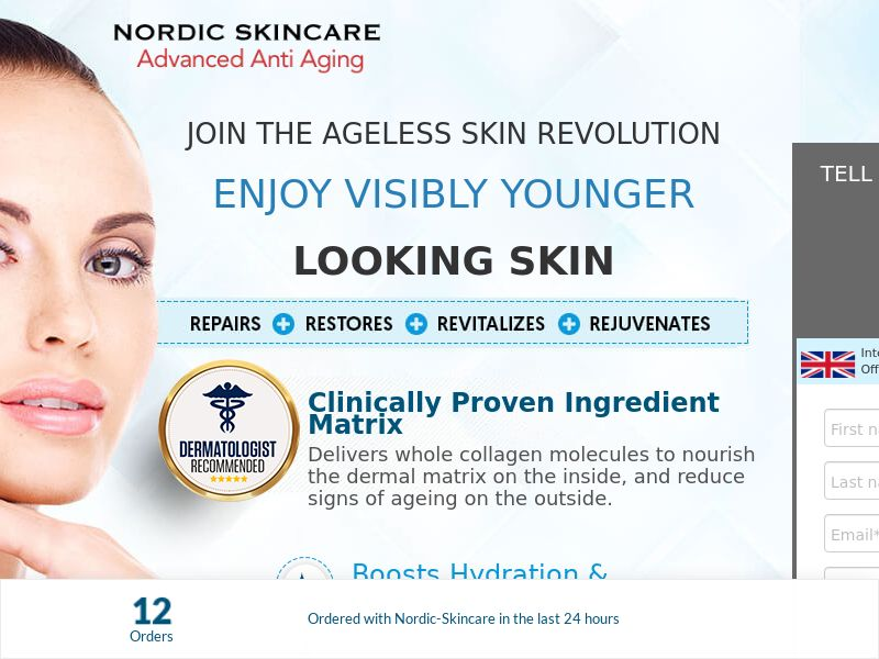 Nordic Skincare [UK] (Email,Social,Banner,Native,Push,SEO,Search) - CPA