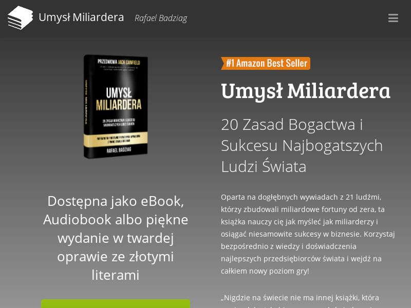Umysł miliardera - PL (PL), [CPS], Books, Ebooks, Knowledge, Trainings, Tutorials, Sport & Hobby, Sell, shop, guide
