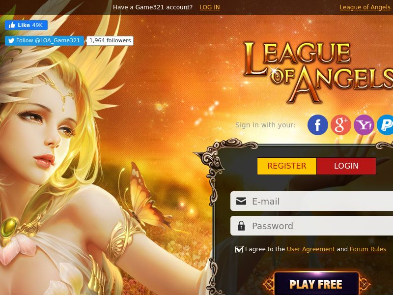 League of Angels - SOI - BE/FR/CH
