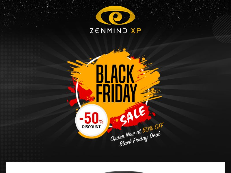 ZenMind XP - Eyes Massaging Mask - Black Friday Lp - CPA - [INTERNATIONAL]
