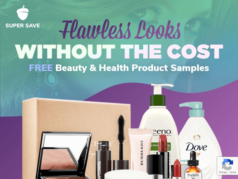 Free Beauty/Health Sample Products - Incent