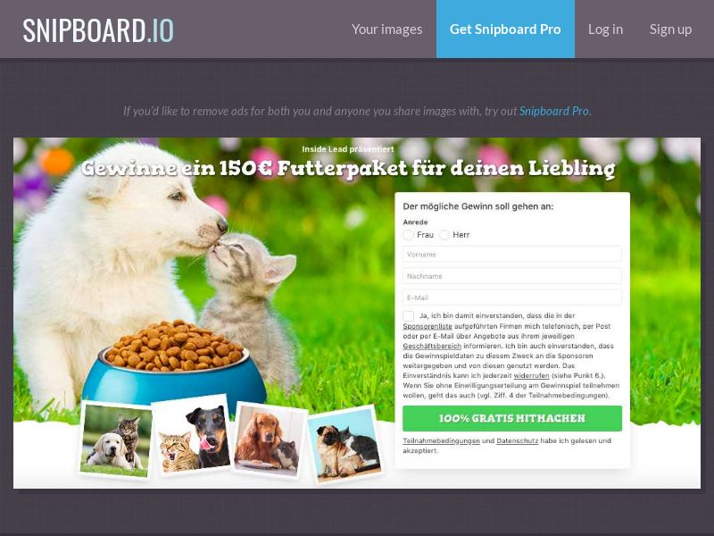 7Sections - Pet Package DE/AT/CH - DOI