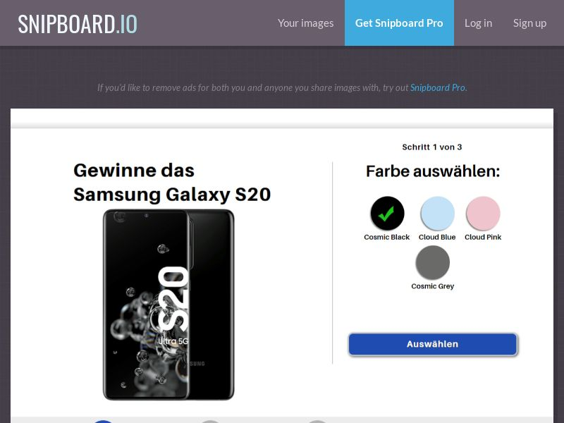 37713 - DE - FrenzyLeads - Samsung Galaxy S20 Prepage - SOI