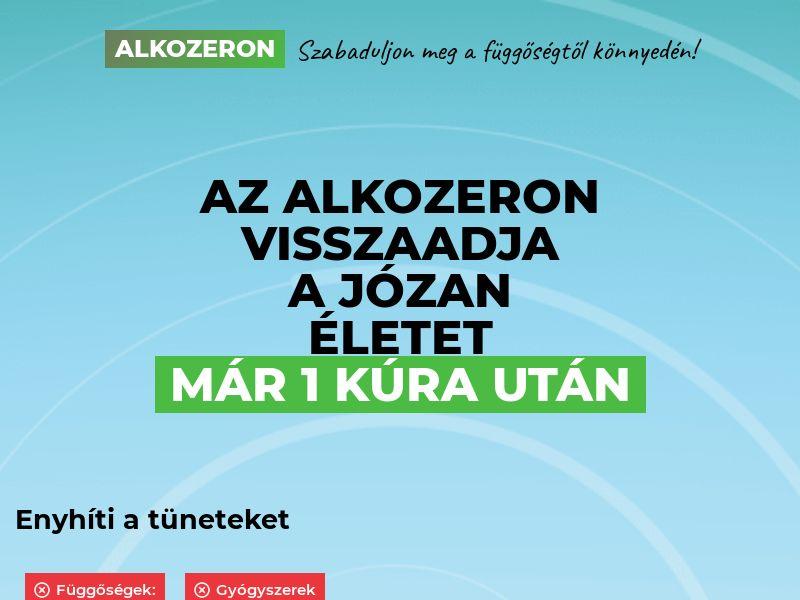 Alkozeron HU - alcoholism treatment product