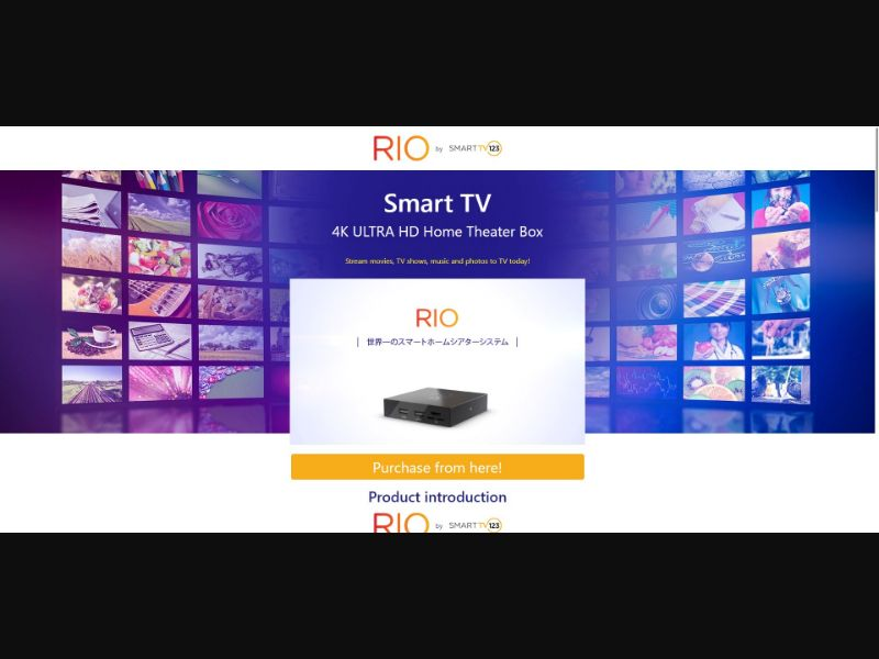 Rio - Smart TV 123 - Japanese Video page - SS - [JP]