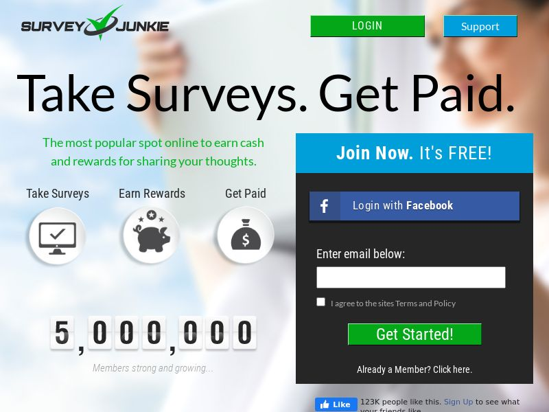 Survey Junkie US | CPL