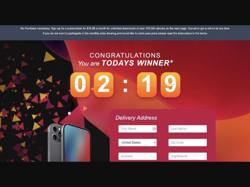 iPhone 12 TOP [US,AU,CA,DE,IT,NZ,ZA,ES,GB] - CC Submit