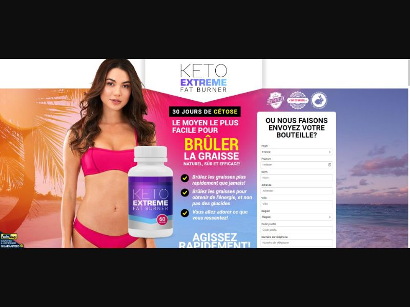 Keto Extreme Fat Burner - Diet & Weight Loss - SS - [FR]