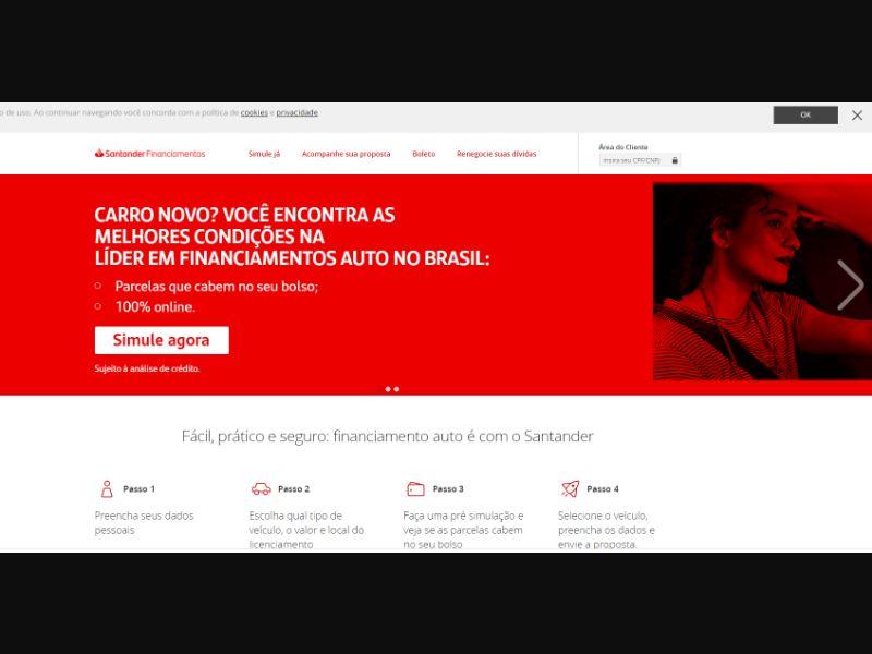 Santander Financiamento [BR] - CPL