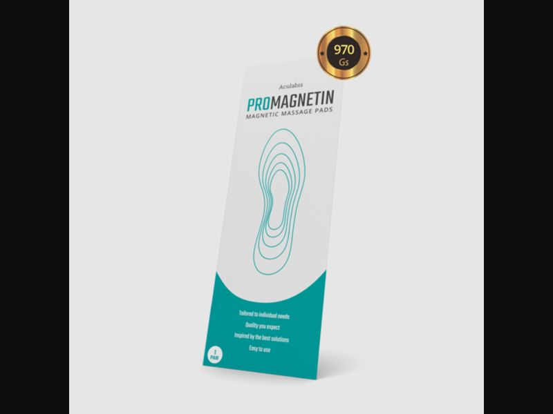 PROMAGNETIN – GR – CPA – pain relief – magnetic shoe insoles - COD / SS - new creative available