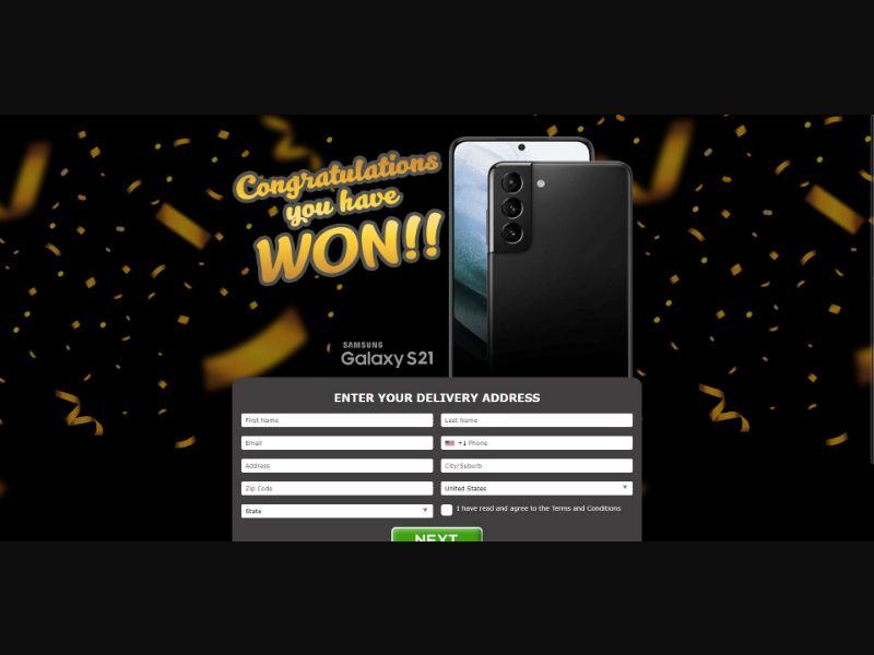 Samsung Galaxy S21 - Sweepstakes & Surveys - Trial - [US]