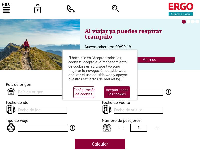 ERGO Seguros de Viaje - ES (ES), [CPS], Business, Insurances, Sell, assurance, security, safe