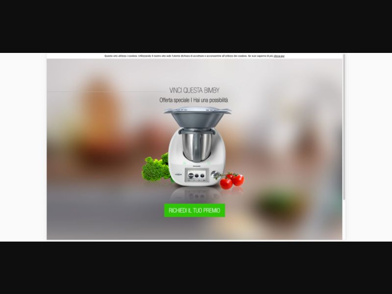 Thermomix - CPL SOI - IT - Sweepstakes - Responsive