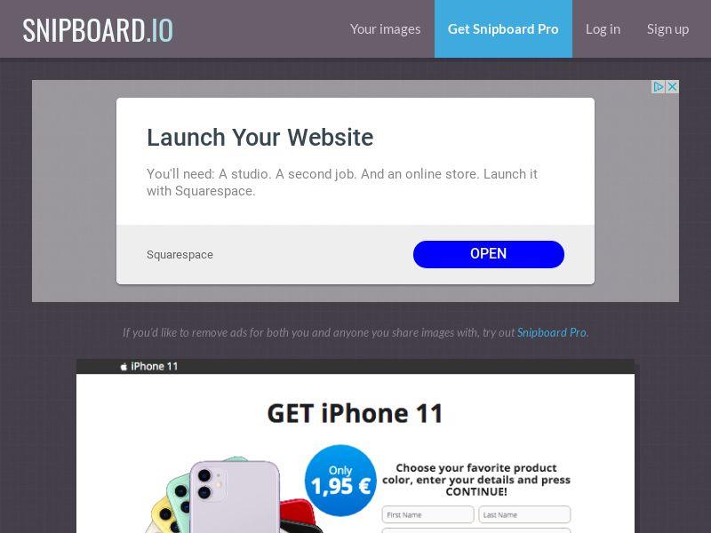 G33K - iPhone 11 FI - CC Submit