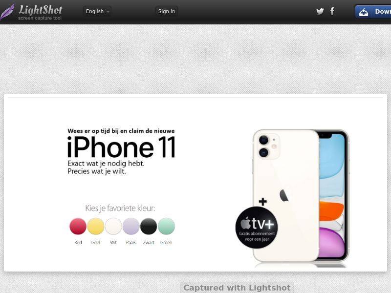 NectarContests - iPhone 11 (NL) (CPL) (Personal Approval)