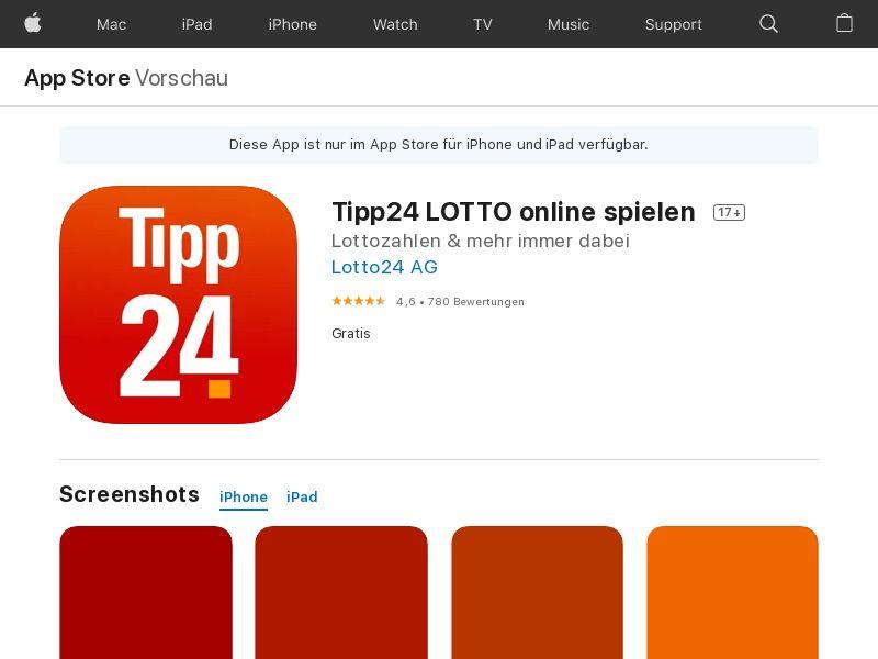 Lotto Tipp24_iOS_DE (CPR)