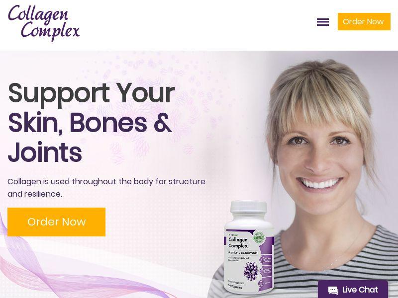 Collagen Complex | Dietary Supplement - Skin, Bone & Joint Health